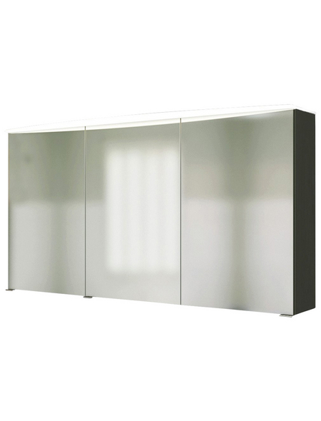 HELD MÖBEL Spiegelschrank »Florida«, 3-türig, LED, B x H: 120 x 64 cm