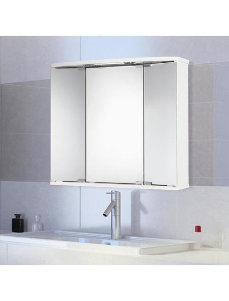 JOKEY Spiegelschrank »Funa«, 3-türig, LED, B x H: 68 x 60 cm