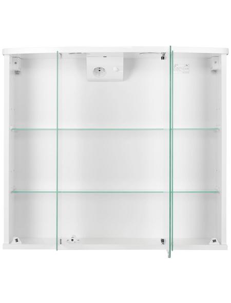 JOKEY Spiegelschrank »Funa«, Weiß BxH: 68 cm x 60 cm