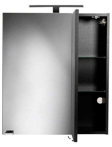POSSEIK Spiegelschrank »HOMELINE«, 2-türig, LED, BxH: 60 x 62 cm