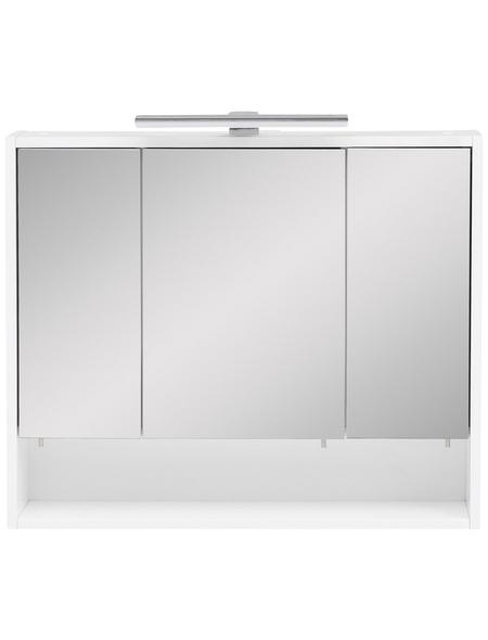 SCHILDMEYER Spiegelschrank »Kimi«, 3-türig, LED, BxH: 70 x 60,5 cm