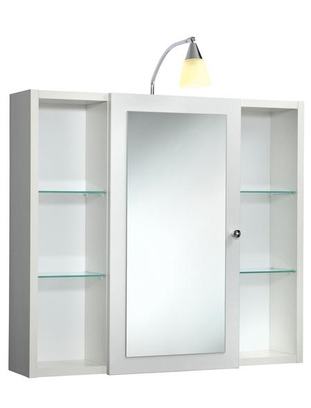 SIEPER Spiegelschrank »Latina«, 1-türig, BxH: 72 x 78 cm, beleuchtet