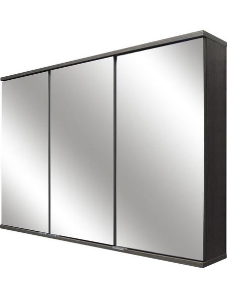 FACKELMANN Spiegelschrank »Lavella und Rondo«, 3-türig, LED, BxH: 100,4 x 68 cm