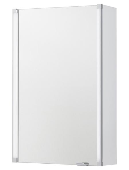 FACKELMANN Spiegelschrank »LED-LINE«, beleuchtet, BxH: 42 cm x 67 cm