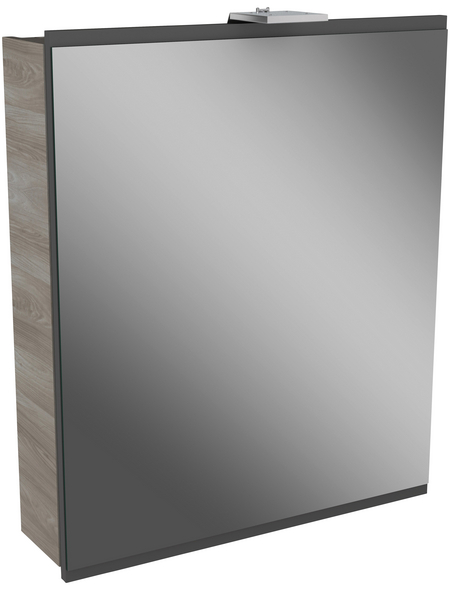 FACKELMANN Spiegelschrank »Lima«, 1-türig, LED, BxH: 60 x 73 cm