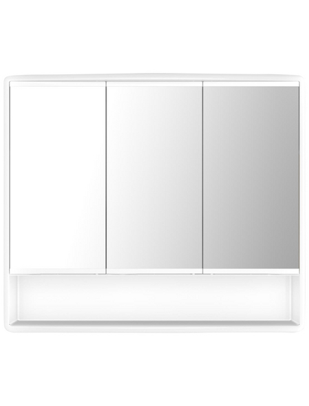 JOKEY Spiegelschrank »Lymo«, 3-türig B x H: 58 x 49,5 cm