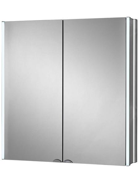 JOKEY Spiegelschrank »Lynd«, 2-türig, LED, B x H: 65 x 68 cm
