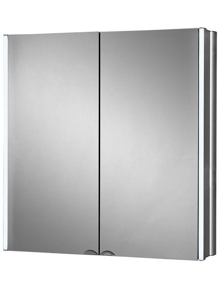 JOKEY Spiegelschrank »Lynd«, 2-türig, LED, BxH: 65 x 68 cm