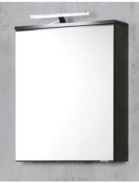 HELD MÖBEL Spiegelschrank »Mailand«, 1-türig, LED, BxH: 60 x 66 cm