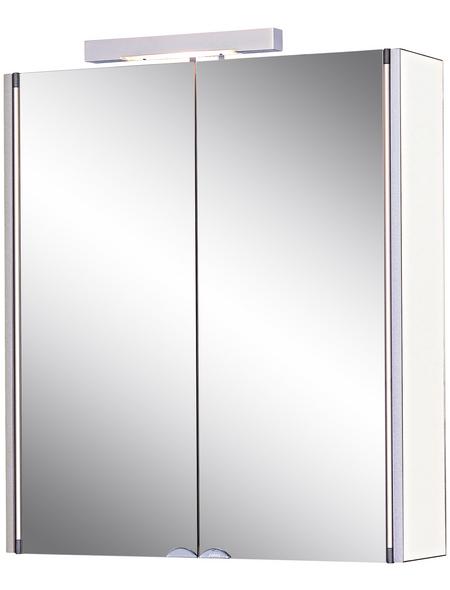 JOKEY Spiegelschrank »Mandiol«, 2-türig, BxH: 63 x 75 cm, beleuchtet