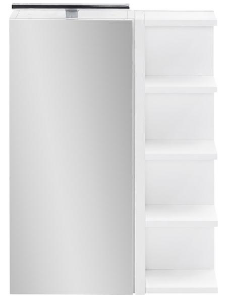 SCHILDMEYER Spiegelschrank »Matteo«, 1-türig, LED, BxH: 50 x 76 cm