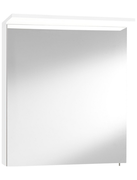 OPTIFIT Spiegelschrank »OPTIbasic 4030«, 1-türig, LED, B x H: 60 x 71 cm