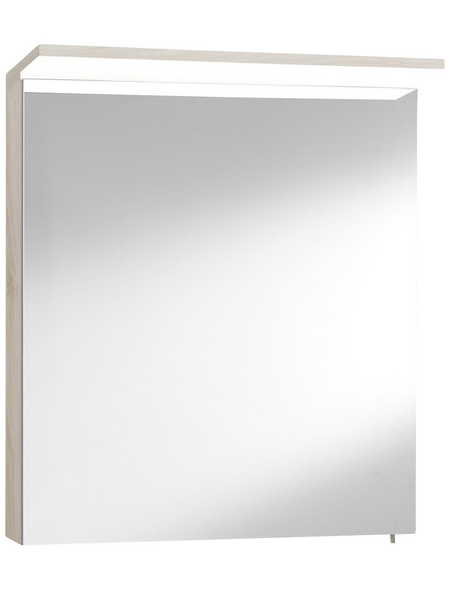 OPTIFIT Spiegelschrank »OPTIbasic 4030«, 1-türig, LED, BxH: 60 x 71 cm