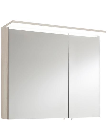 OPTIFIT Spiegelschrank »OPTIbasic 4030«, 2-türig, LED, B x H: 80 x 71 cm