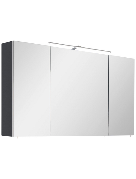 OPTIFIT Spiegelschrank »OPTIbasic 4050«, 3-türig, LED, BxH: 110 x 74 cm