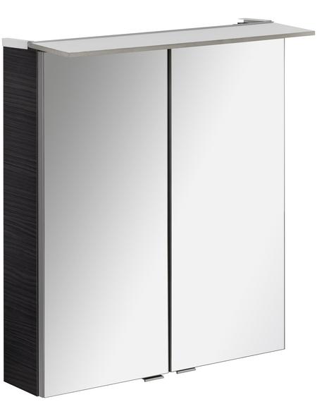 FACKELMANN Spiegelschrank »PE 60«, 2-türig, LED, BxH: 60 x 69 cm