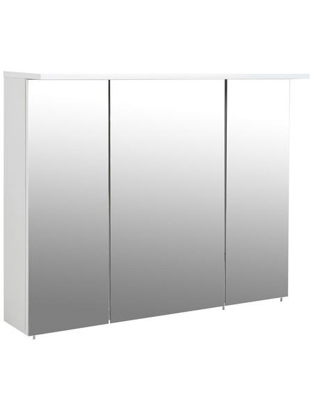 SCHILDMEYER Spiegelschrank »Profil«, Weiß BxH: 100 cm x 72,5 cm