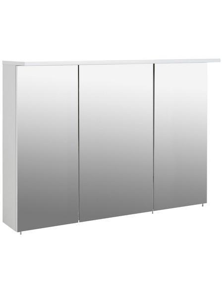 SCHILDMEYER Spiegelschrank »Profil«, Weiß BxH: 120 cm x 72,5 cm