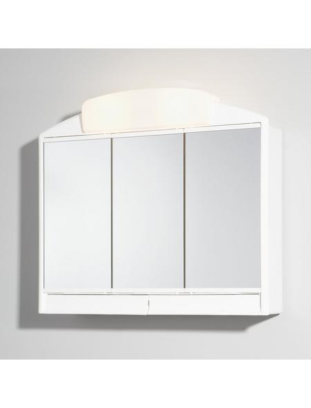 JOKEY Spiegelschrank »Rano«, 3-türig, BxH: 59 x 51 cm, beleuchtet