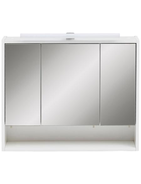 SCHILDMEYER Spiegelschrank »Sailor«, 3-türig, LED, B x H: 70 x 60,5 cm