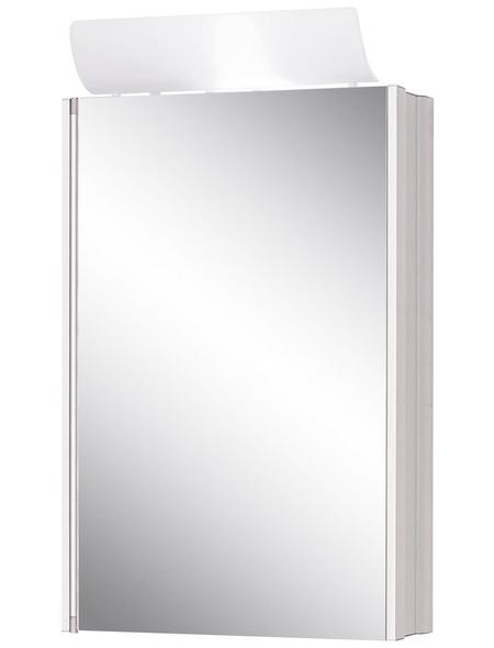 JOKEY Spiegelschrank »Single«, 1-türig, BxH: 45 x 77 cm, beleuchtet
