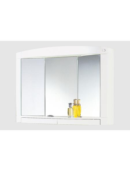 JOKEY Spiegelschrank »Swing«, 3-türig, BxH: 76 x 58 cm, beleuchtet