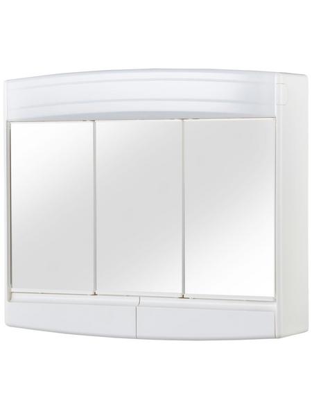 JOKEY Spiegelschrank »Topas Eco«, 3-türig, LED, B x H: 60 x 53 cm