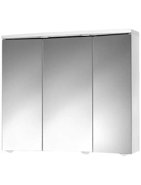 JOKEY Spiegelschrank »Trava«, Weiß BxH: 75 cm x 65 cm