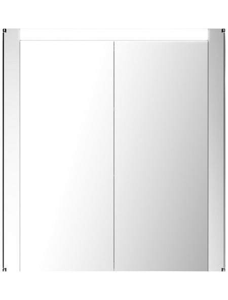 JOKEY Spiegelschrank »Tromsö«, 2-türig, BxH: 63 x 68,5 cm, beleuchtet