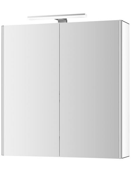 JOKEY Spiegelschrank Weiß BxH: 65,4 cm x 68 cm