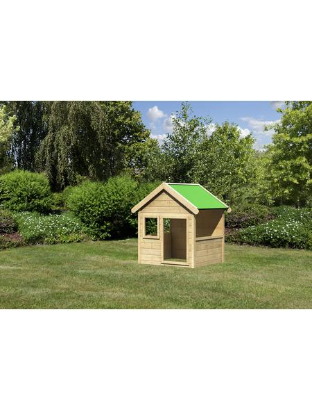 AKUBI Spielhaus »Jim«, BxHxT: 135 x 150 x 123 cm, Holz, natur