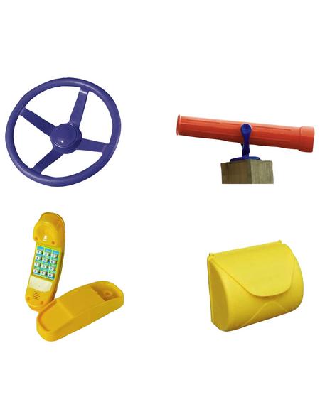 AKUBI Spielzeug, BxHxL: 30 x 14 x 100 cm, rot
