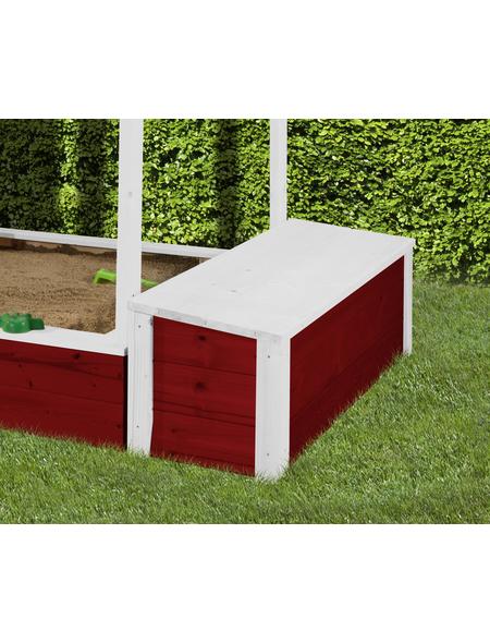 WEKA Spielzeugtruhe, Holz, geeignet für: Kinderspielhaus Drachenhöhle & Spielhaus 818