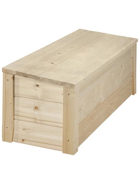 WEKA Spielzeugtruhe »Tabaluga«, Holz, geeignet für: Kinderspielhaus Drachenhöhle & Spielhaus 818