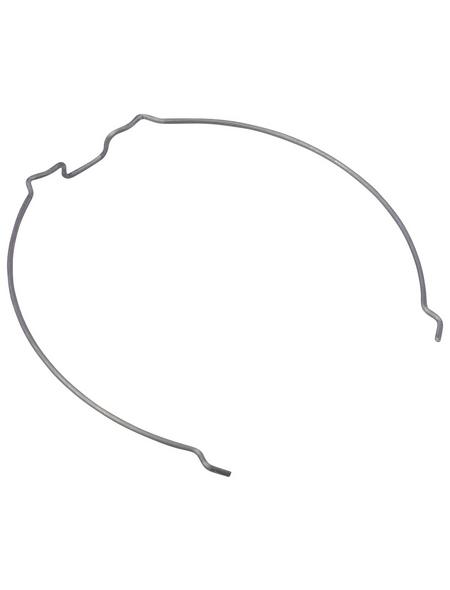 PAULMANN Sprengring »Easy Click«, Metall, silberfarben, 3 Stück