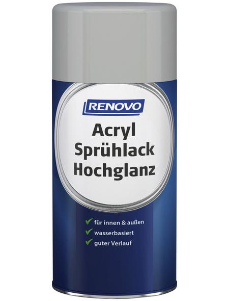 RENOVO Sprühlack, 250 ml, lichtgrau