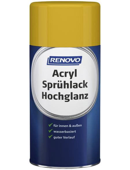 RENOVO Sprühlack, 250 ml, rapsgelb