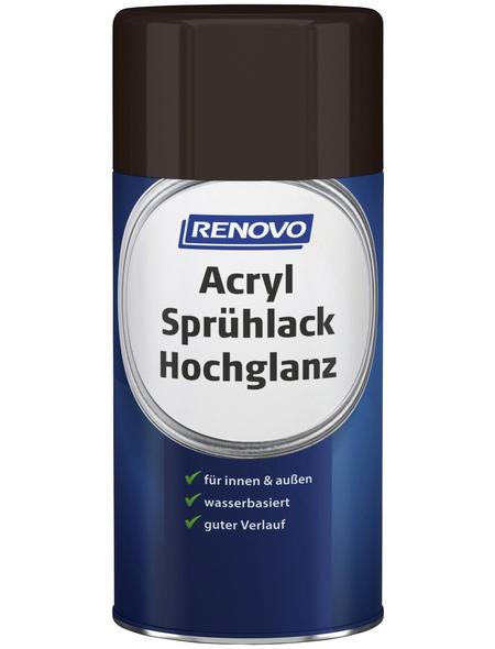 RENOVO Sprühlack, 250 ml, schokobraun