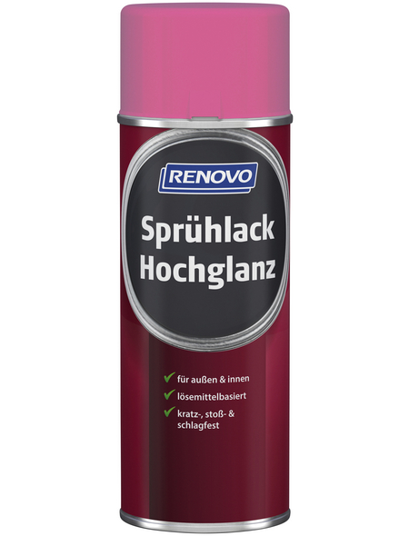 RENOVO Sprühlack, 400 ml, fuchsiapink