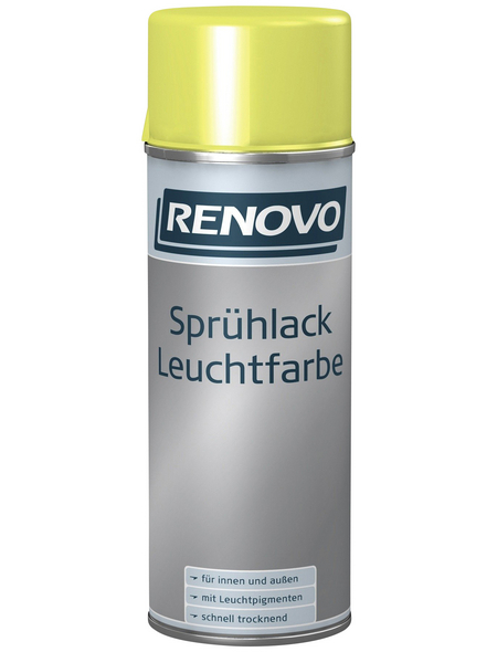 RENOVO Sprühlack, 400 ml, gelb