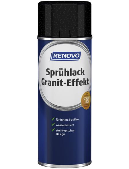 RENOVO Sprühlack, 400 ml, granit-effekt