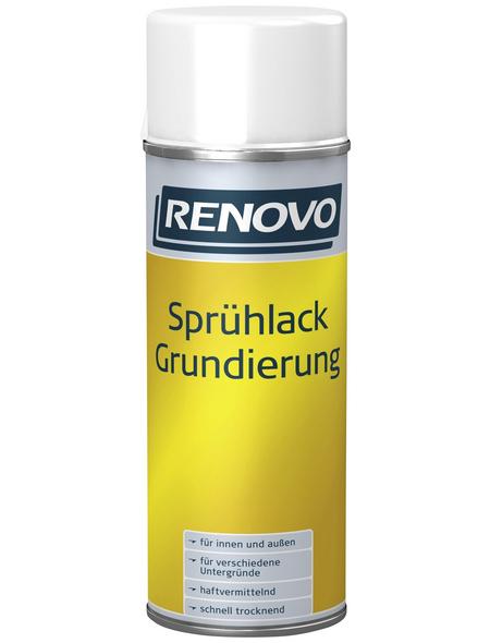 RENOVO Sprühlack, 400 ml, grau