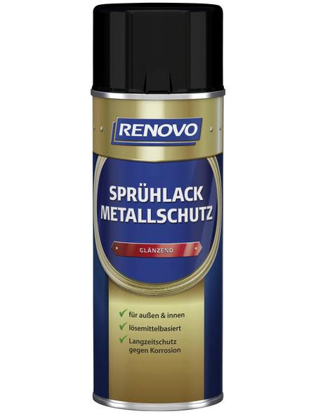 RENOVO Sprühlack, 400 ml, schwarz