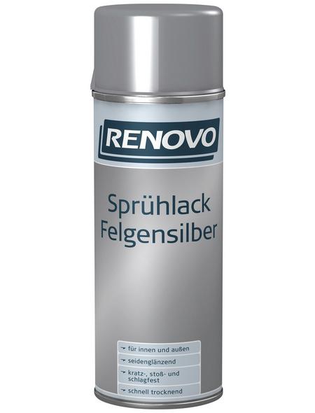 RENOVO Sprühlack, 400 ml, silber