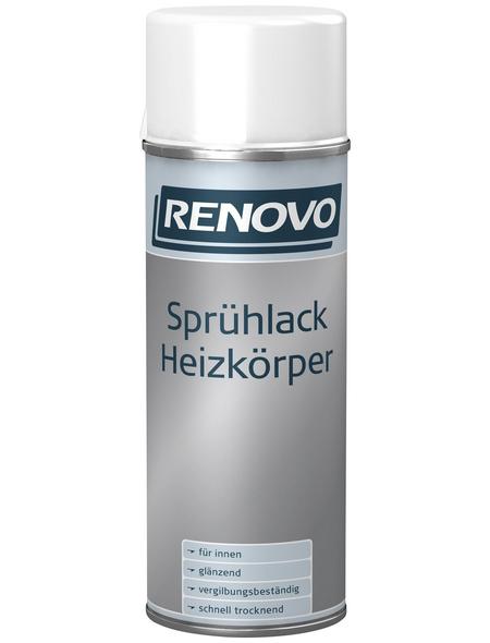 RENOVO Sprühlack, 400 ml, weiß