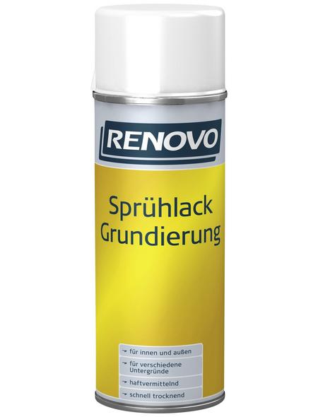RENOVO Sprühlack, 400 ml, weißaluminium