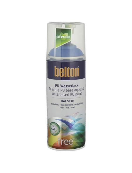 BELTON Sprühlack »Free«, 400 ml, enzianblau