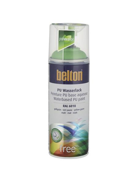 BELTON Sprühlack »Free«, 400 ml, gelbgrün