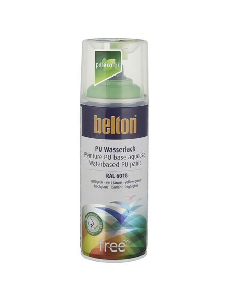 BELTON Sprühlack »Free«, auf Wasserbasis, hellgrün