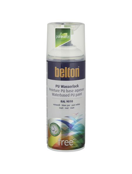 BELTON Sprühlack »Free«, auf Wasserbasis, reinweiß